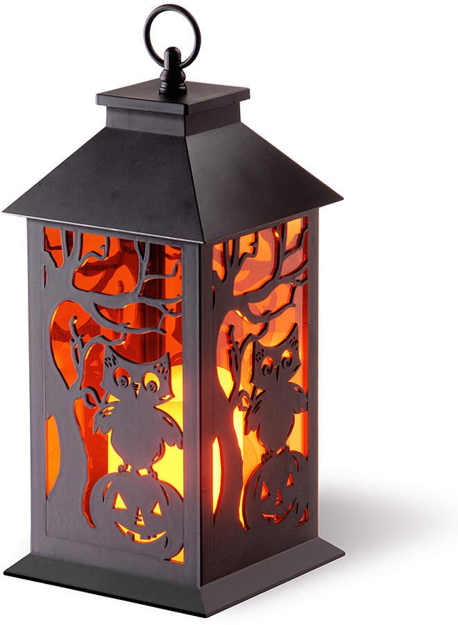 Owl & Pumpkin Lantern