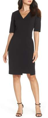 Vince Camuto Scuba Crepe Dress