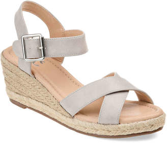 Journee Collection Dryden Espadrille Wedge Sandal - Women's