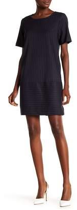 Pleione Pinstripe Sheath Dress
