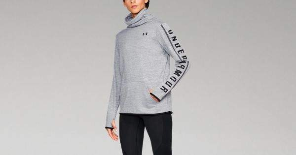 Under Armour Women's Armour Fleece Graphic Twist Pullover