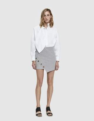 Stelen Grace Asymmetric Striped Mini Skirt
