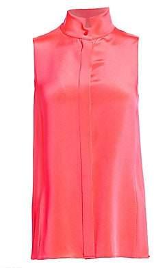 Akris Women's Sleeveless Silk Crepe Blouse
