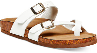Madden Girl Bryce Footbed Sandals $49 thestylecure.com