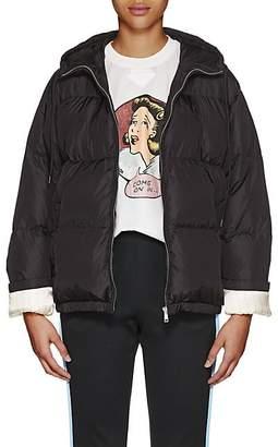 Prada Women's Hooded Puffer Jacket - Black