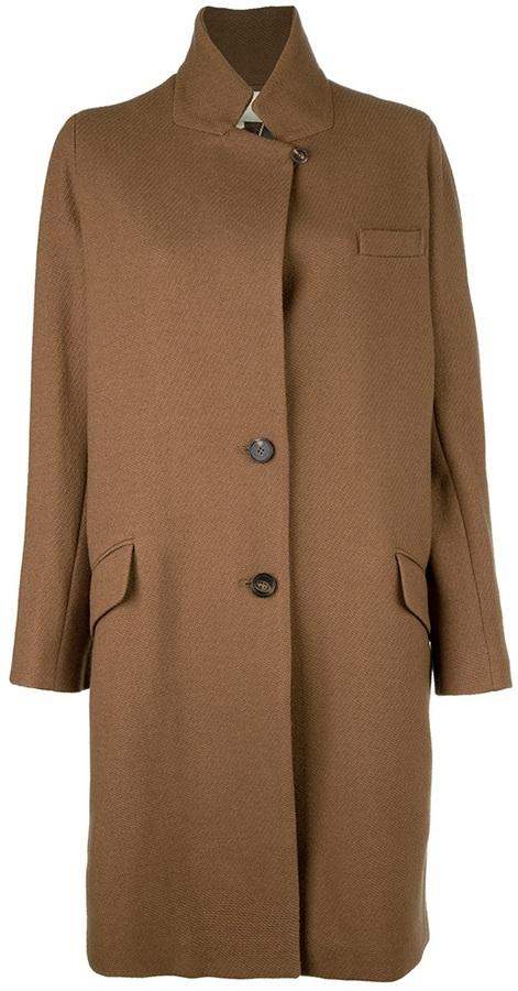 Vanessa Bruno Stand-up collar coat