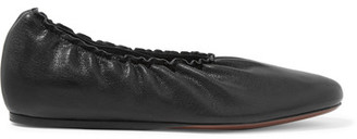Lanvin - Leather Ballet Flats - Black $695 thestylecure.com
