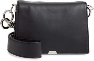 AllSaints Captain Leather Shoulder Bag