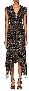Ulla Johnson Women's Ressie Floral & Paisley Silk Asymmetric Dress