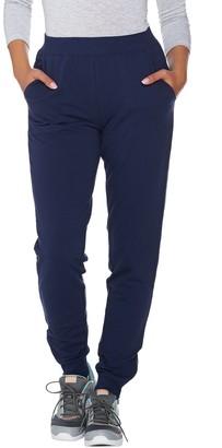 Denim & Co. Active Regular Jogger Pants with Zipper Detail