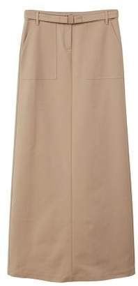 MANGO Belt long skirt
