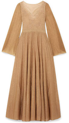 Missoni Pleated Lurex Gown - Gold