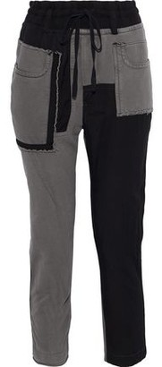 Haider Ackermann Patchwork Cotton-Terry Track Pants