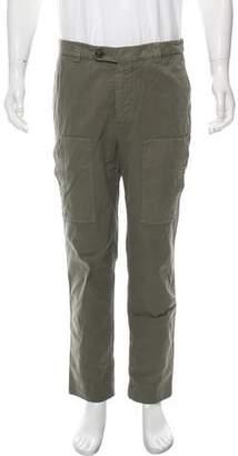 Brunello Cucinelli Flat Front Cargo Pants