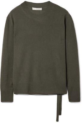 Vince Cashmere Sweater - Dark green