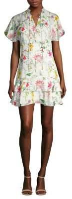 Parker Natalie Floral Mini Dress
