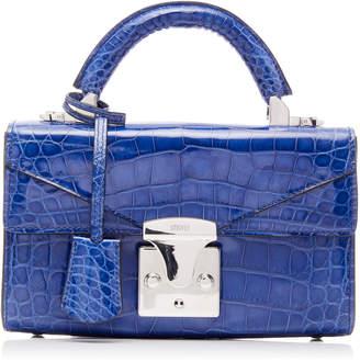 Stalvey M'O Exclusive Top Handle 2.0 Alligator Shoulder Bag