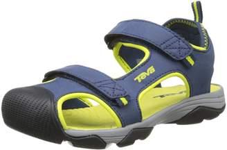 Teva Toachi 4 Hard Sole Sandal, Navy/Lime
