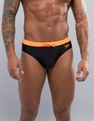 Speedo Contrast 7cm Swim Briefs
