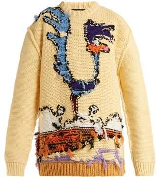 Calvin Klein Looney Tunes Wool Sweater - Womens - Multi