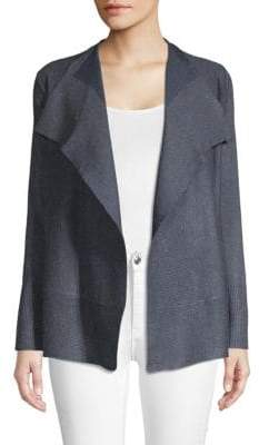 Waterfall Open-Front Cardigan
