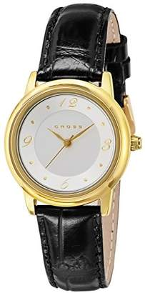Cross [クロス 腕時計 Chicago シルバー文字盤 WFAK25 レディース 【正規輸入品】