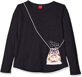 S'Oliver Girl's 53.807.31.5270 Longsleeve T-Shirt