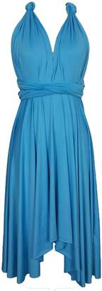 Edaydress Plus Size high Low Hem Dress Infinity Dresses Short Bridesmaid Dress