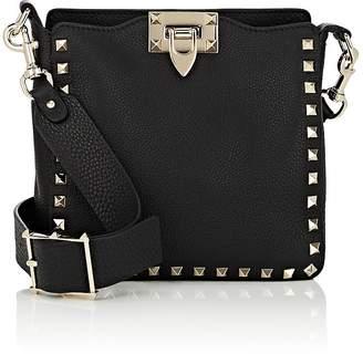 Valentino Women's Rockstud Mini Leather Hobo Bag