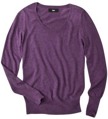 Mossimo® Petites Ultrasoft Scoop Neck Sweater - Assorted Colors
