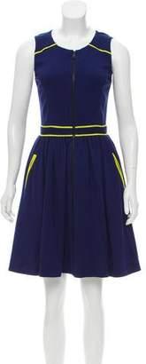 Jason Wu A-Line Colorblock Dress