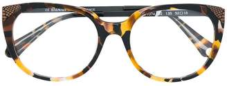 Balmain tortoiseshell-effect cat-eye sunglasses