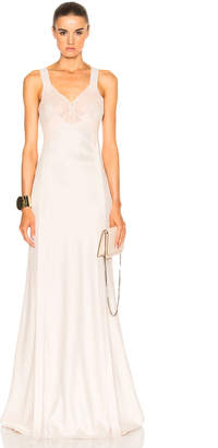 Givenchy Lace Silk Gown
