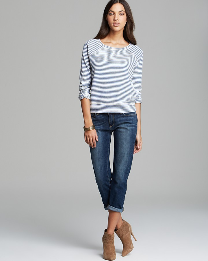 Soft Joie Sweatshirt - Emma Stripe