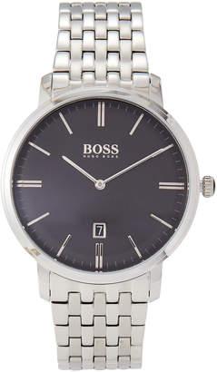HUGO BOSS 1513536 Tradition Silver-Tone Watch