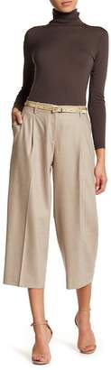 Lafayette 148 New York Rivington Wool Blend Cropped Pants (Petite)