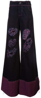 Angus Chiang extra wide leg jeans