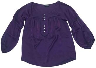 Zadig & Voltaire Purple Silk Top for Women