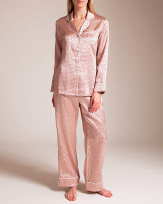 Hanson Olivia Von Halle Lila Renatta Silk Pajama