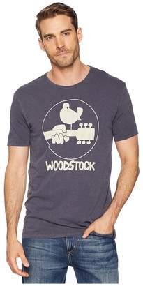 Lucky Brand Woodstock Logo Tee Men's Clothing