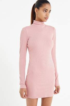 Urban Outfitters Gigi Turtleneck Mini Dress
