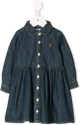 Ralph Lauren denim shirt dress and bloomers set