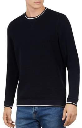 Ted Baker Magiics Striped-Border Sweatshirt