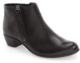 ECCO 'Touch' Zip Bootie (Women) $169.95 thestylecure.com