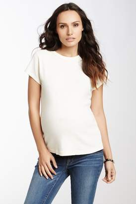 Michael Stars Band Crew Tee (Maternity)
