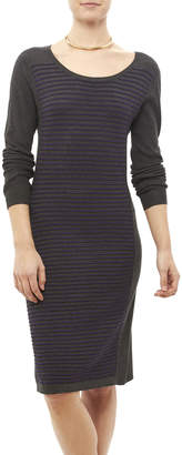 Tribal Gray Stripe Dress
