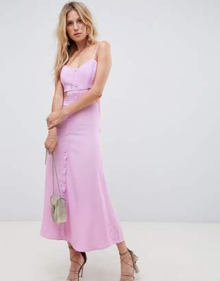 Flynn Skye Cut Out Midi Dress