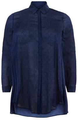 Elena Mirò Patterned Tunic Shirt