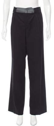 See by Chloe Pleat-Accented Wide-Leg Pants w/ Tags