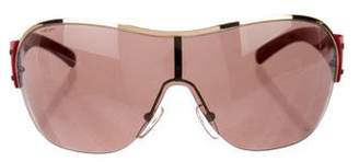 Prada Sport Tinted Shield Sunglasses